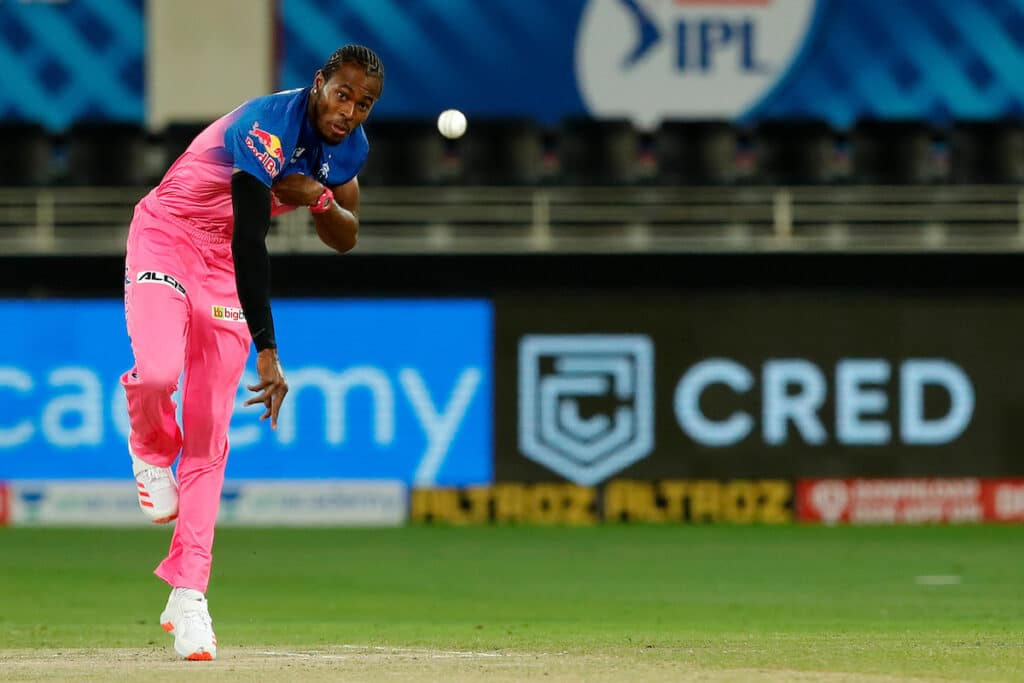 Rajasthan Royals' Jofra Archer wins the 'Most Valuable Player' award in